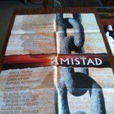 Cine: POSTER -- AMISTAD -- POSTER GRANDE -- ORIGINALES DE CINE -- . Lote 151579698