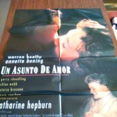 Cine: POSTER -- UN ASUNTO DE AMOR -- POSTER GRANDE -- ORIGINALES DE CINE -- . Lote 151580842