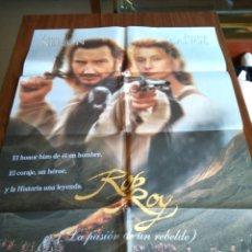 Cine: POSTER -- ROB ROY -- POSTER GRANDE + 12 FOTOGRAMAS -- ORIGINALES DE CINE -- . Lote 151581782