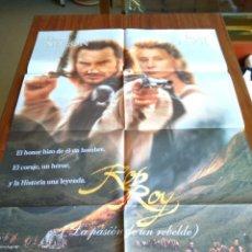 Cine: POSTER -- ROB ROY -- POSTER GRANDE + 12 FOTOGRAMAS -- ORIGINALES DE CINE -- . Lote 151581878