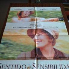 Cine: POSTER -- SENTIDO Y SENSIBILIDAD -- POSTER GRANDE -- ORIGINALES DE CINE -- . Lote 151582206