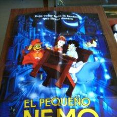 Cine: POSTER -- EL PEQUEÑO NEMO -- POSTER GRANDE -- ORIGINALES DE CINE -- . Lote 151582942