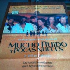 Cine: POSTER -- MUCHO RUIDO Y POCAS NUECES -- POSTER GRANDE -- ORIGINALES DE CINE -- . Lote 151585850
