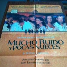 Cine: POSTER -- MUCHO RUIDO Y POCAS NUECES -- POSTER GRANDE -- ORIGINALES DE CINE -- . Lote 151585906