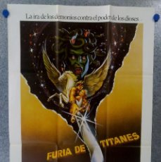 Cine: FURIA DE TITANES - HARRY HAMLIN, JUDI BOWKER, URSULA ANDRESS - AÑO 1981. Lote 151760762