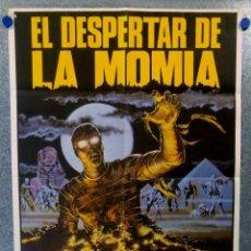Cine: EL DESPERTAR DE LA MOMIA. BRENDA KING, BARRY SATTELS, GEORGE PECK. AÑO 1983 - POSTER ORIGINAL. Lote 151809614