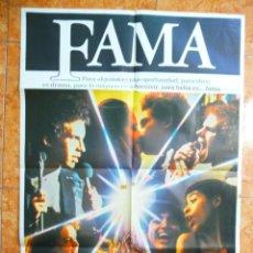 Cine: CARTEL DE CINE PELICULA FAMA ORIGINAL DE LOS AÑOS 80 ALAN PARKER. Lote 151813826