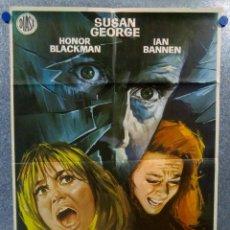 Cine: ACOSADAS POR EL PÁNICO. SUSAN GEORGE, HONOR BLACKMAN, IAN BANNEN. AÑO 1972. CARTEL ORIGINAL. Lote 151815914