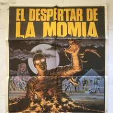 Cine: EL DESPERTAR DE LA MOMIA - POSTER CARTEL ORIGINAL - BRENDA KING DAWN OF THE MUMMY FRANK AGRAMA. Lote 151851026