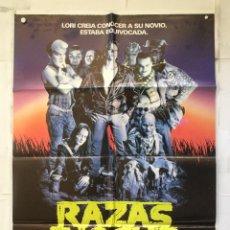Cine: RAZAS DE NOCHE - POSTER CARTEL ORIGINAL - NIGHTBREED CLIVE BARKER DAVID CRONENBERG. Lote 151855450