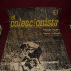 Cine: MAGNIFICO CARTEL DE CINE ORIGINAL DE EPOCA,EL COLECCIONISTA,SALIDA 1 EURO. Lote 151913750