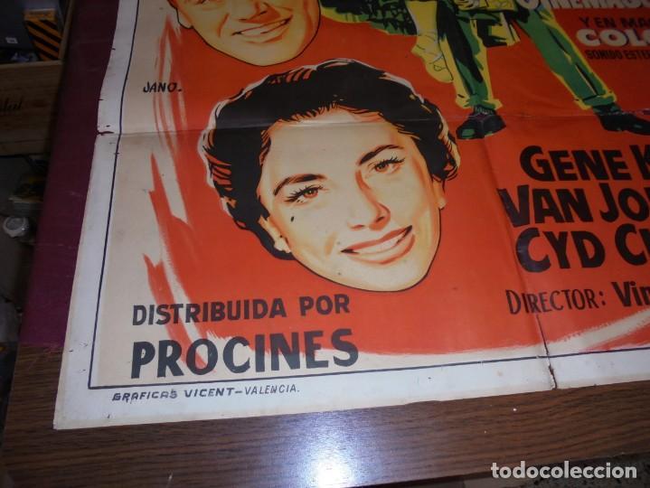 Kino: magnifico cartel de cine original de epoca,brigadoon,salida 1 euro - Foto 2 - 151916834