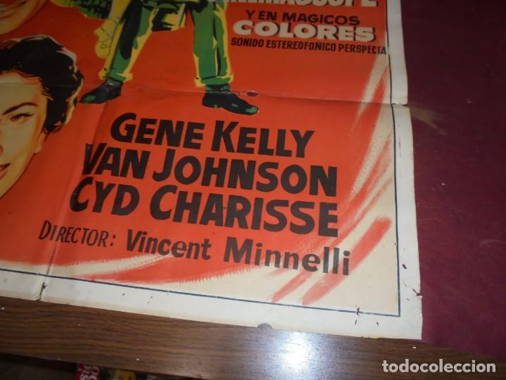 Kino: magnifico cartel de cine original de epoca,brigadoon,salida 1 euro - Foto 3 - 151916834