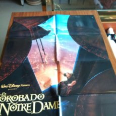 Cine: POSTER -- EL JOROBADO DE NOITRE DAME -- POSTER GRANDE + 11 FOTOCROMOS -- ORIGINALES DE CINE --. Lote 151981550