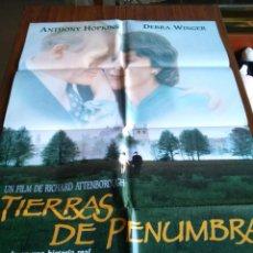 Cine: POSTER -- TIERRAS DE PENUMBRA -- POSTER GRANDE -- ORIGINALES DE CINE -- . Lote 152026034