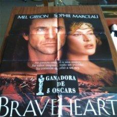 Cinema: POSTER -- BRAVEHEART -- POSTER GRANDE -- ORIGINALES DE CINE -- . Lote 152153942