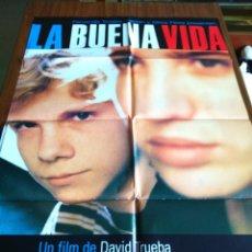 Cine: POSTER -- LA BUENA VIVA -- POSTER GRANDE + 12 FOTOGRAMAS -- ORIGINALES DE CINE -- . Lote 152156322