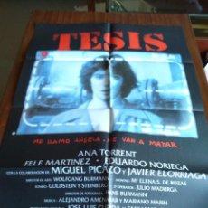 Cinema: POSTER -- TESIS -- POSTER GRANDE -- ORIGINALES DE CINE -- . Lote 152196926