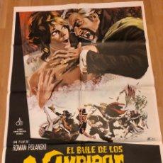 Cine: CARTEL O POSTER EL BAILE DE LOS VAMPIROS.ROMAN POLANSKI.SHARON TATE JACK MACGOWRAN. Lote 152223334