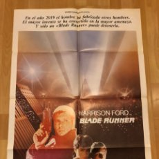 Cine: CARTEL O POSTER ORIGINAL DE BLADE RUNNER.HARRISON FORD.RIDLEY SCOTT 1982. Lote 152229842