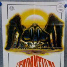 Cine: TARÁNTULA. WILLIAM SHATNER, TIFFANY BOLLING, WOODY STRODE. AÑO 1978. POSTER ORIGINAL . Lote 152298970