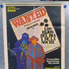 Cine: LOS HIJOS DEL DIA Y DE LA NOCHE. THOMAS MILIAN, SUSAN GEORGE, TELLY SAVALAS. AÑO 1972. Lote 152305954