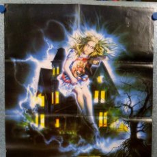 Cine: LA CASA FANTASMA GHOSTHOUSE. LARA WENDEL, GREG SCOTT, MARY SELLERS. POSTER ORIGINAL. Lote 152307830