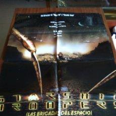 Cine: POSTER -- BRIGADAS DEL ESPACIO - STARSHIP TROOPERS -- POSTER GRANDE -- ORIGINALES DE CINE -- . Lote 152330990