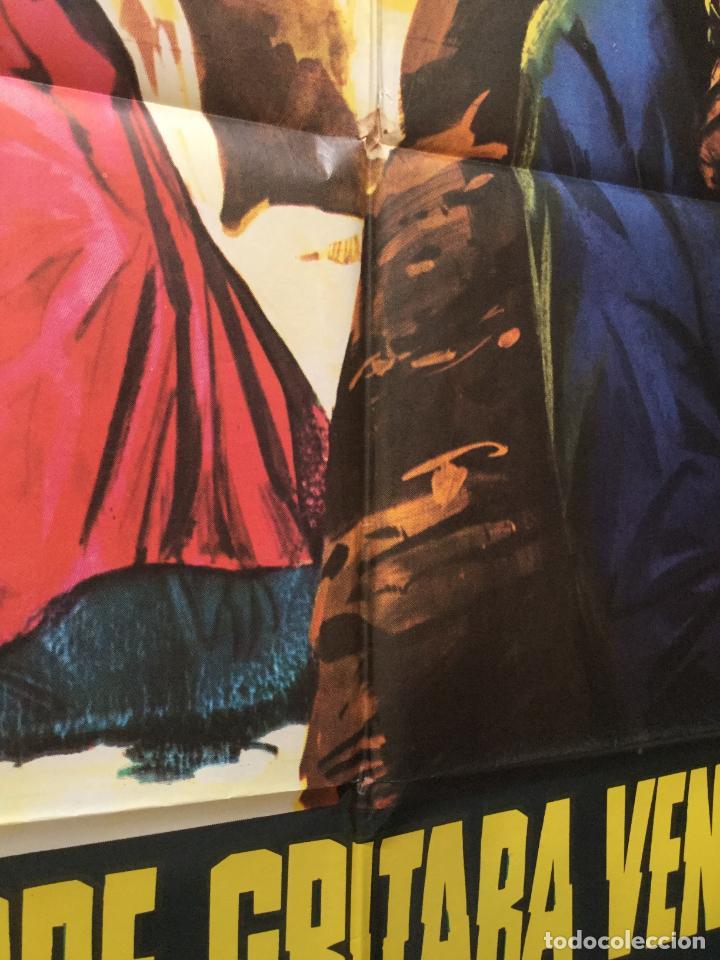 Cine: su nombre gritaba venganza - poster cartel cine original - anthony steffen william berger - Foto 4 - 152409090