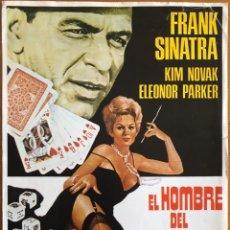 Cine: CINE- EL HOMBRE DEL BRAZO DE ORO- FRANK SINATRA 1.95.... Lote 152436698