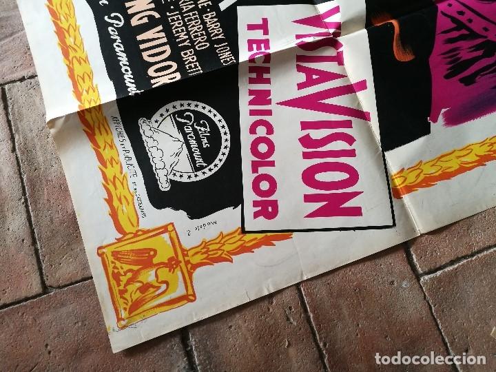 Cine: cartel poster dificil y raro estreno GUERRA Y PAZ guerre et paix, FRANCIA GRAN TAMAÑO-ORIGINAL 1956 - Foto 5 - 152460842