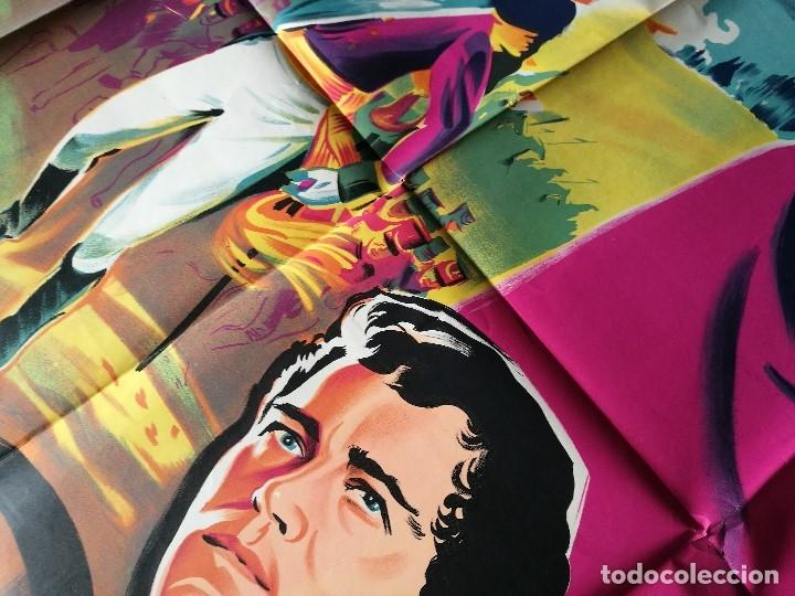Cine: cartel poster dificil y raro estreno GUERRA Y PAZ guerre et paix, FRANCIA GRAN TAMAÑO-ORIGINAL 1956 - Foto 8 - 152460842