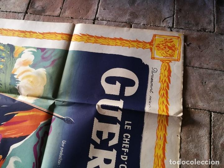Cine: cartel poster dificil y raro estreno GUERRA Y PAZ guerre et paix, FRANCIA GRAN TAMAÑO-ORIGINAL 1956 - Foto 13 - 152460842