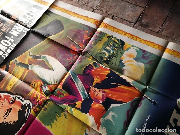 Cine: cartel poster dificil y raro estreno GUERRA Y PAZ guerre et paix, FRANCIA GRAN TAMAÑO-ORIGINAL 1956 - Foto 14 - 152460842