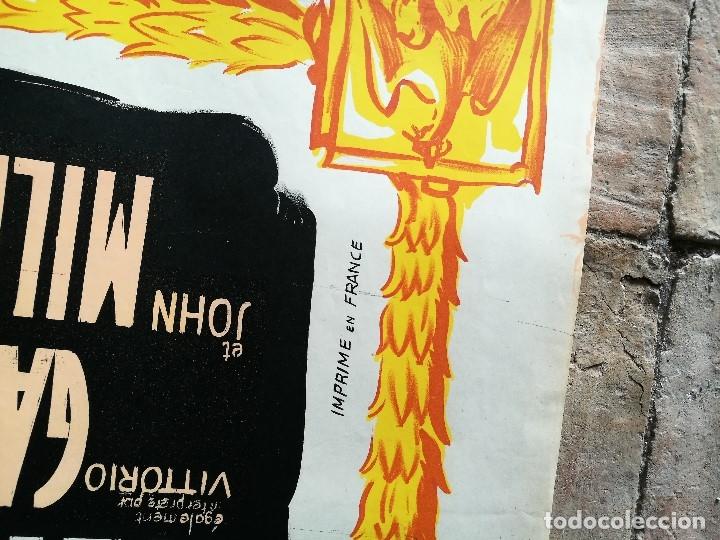 Cine: cartel poster dificil y raro estreno GUERRA Y PAZ guerre et paix, FRANCIA GRAN TAMAÑO-ORIGINAL 1956 - Foto 16 - 152460842