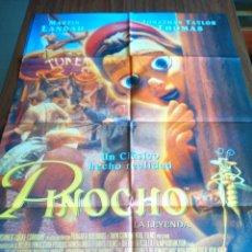 Cine: POSTER -- PINOCHO LA LEYENDA -- POSTER GRANDE -- ORIGINALES DE CINE -- . Lote 152576346