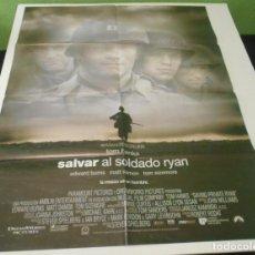 Cine: CARTEL POSTER CINE ORIGINAL SALVAR AL SOLDADO RYAN 70X00. Lote 226119950