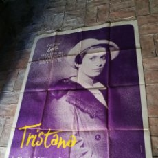 Cine: CARTEL POSTER ESTRENO TRISTANA,BUÑUEL ESTRENO FRANCIA GRAN TAMAÑO-MURAL 160 X 120 CM...ORIGINAL 1970. Lote 152718982