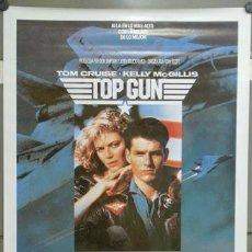 Cine: E702 TOP GUN TOM CRUISE KELLY MCGILLIS POSTER 70X100. Lote 263574115