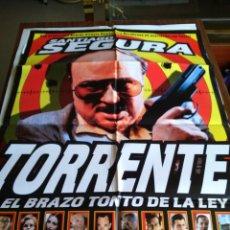 Cinema: POSTER -- TORRENTE -- POSTER GRANDE -- ORIGINALES DE CINE -- . Lote 152883578