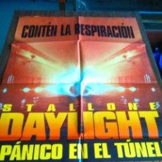 Cine: POSTER -- PANICO EN EL TUNEL -- POSTER GRANDE -- ORIGINALES DE CINE --. Lote 217937847