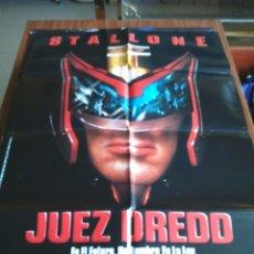 Cinema: POSTER -- JUEZ DREDD -- POSTER GRANDE -- ORIGINALES DE CINE -- . Lote 152948458
