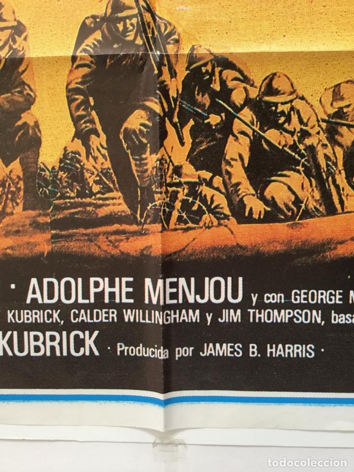 Cine: senderos de gloria - poster cartel original - paths of glory kirk douglas stanley kubrick - Foto 2 - 182155020
