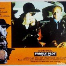Cine: CARTEL DE LA PELICULA FAMILY PLOT ( LA TRAMA) DE ALFRED HITCHCOCK. Lote 153221506