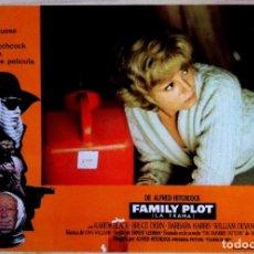 Cine: CARTEL DE LA PELICULA FAMILY PLOT ( LA TRAMA) DE ALFRED HITCHCOCK. Lote 153221998