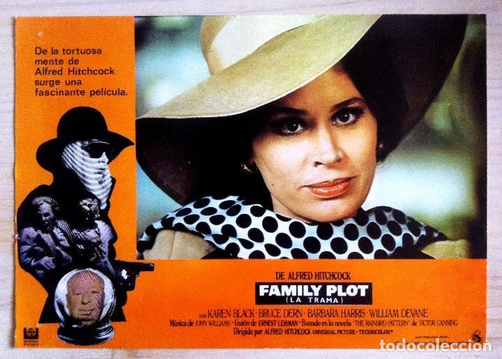CARTEL DE LA PELICULA FAMILY PLOT ( LA TRAMA) DE ALFRED HITCHCOCK (Cine - Posters y Carteles - Suspense)