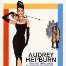 Cine: DESAYUNO CON DIAMANTES - AUDREY HEPBURN (POSTER). Lote 160326076