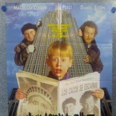 Cine: SOLO EN CASA 2 PERDIDO EN NUEVA YORK - MACAULAY CULKIN, JOE PESCI, DANIEL AÑO 1992 POSTER ORIGINAL. Lote 182941660