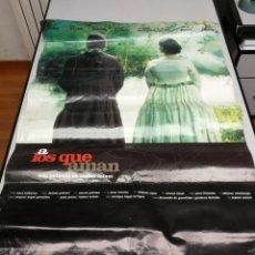 Cine: 5 POSTERS CARTELES DE CINE A LOS QUE AMAN, POR FIN SOLOS, EL REY DEL RIO, LOS PISTOLEROS... Lote 155877166