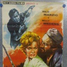 Cine: MISION INFERNAL. DULIO MARZIO, NELLY MEDENS . AÑO 1962. POSTER ORIGINAL . Lote 153563686